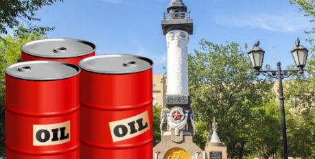В центре Астрахани находили нефть
