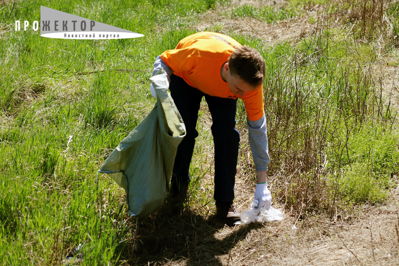 Астраханцы получат продукты за мешок мусора