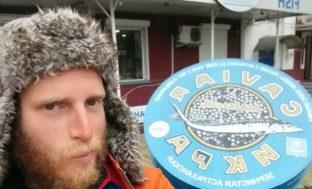 Французский путешественник добрался до Астрахани на байдарке