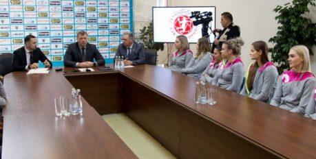 Газпромбанк может стать титульным спонсором «Астраханочки»