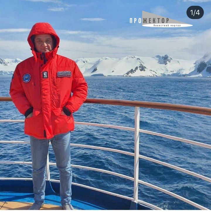 Депутат Ринат Аюпов выложил фото с отпуска в Антарктике