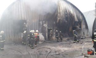 Крупный пожар в Астраханской области тушили пол дня