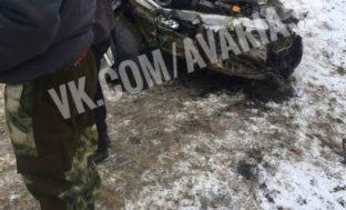 Лобовое столкновение на трассе «Астрахань-Волгоград»: молодая девушка в тяжёлом состоянии