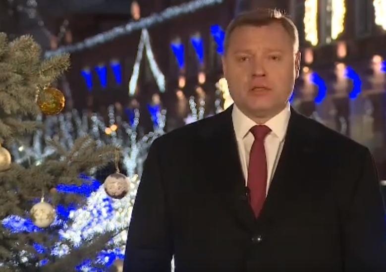 Новогоднее обращение губернатора Астраханской области Игоря Бабушкина