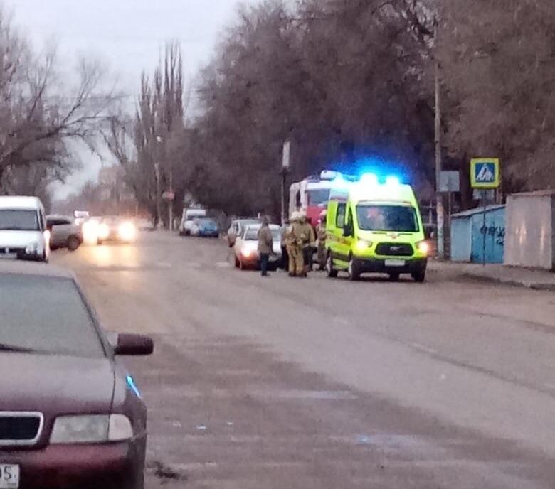Машина сбила женщину на ул.Безжонова