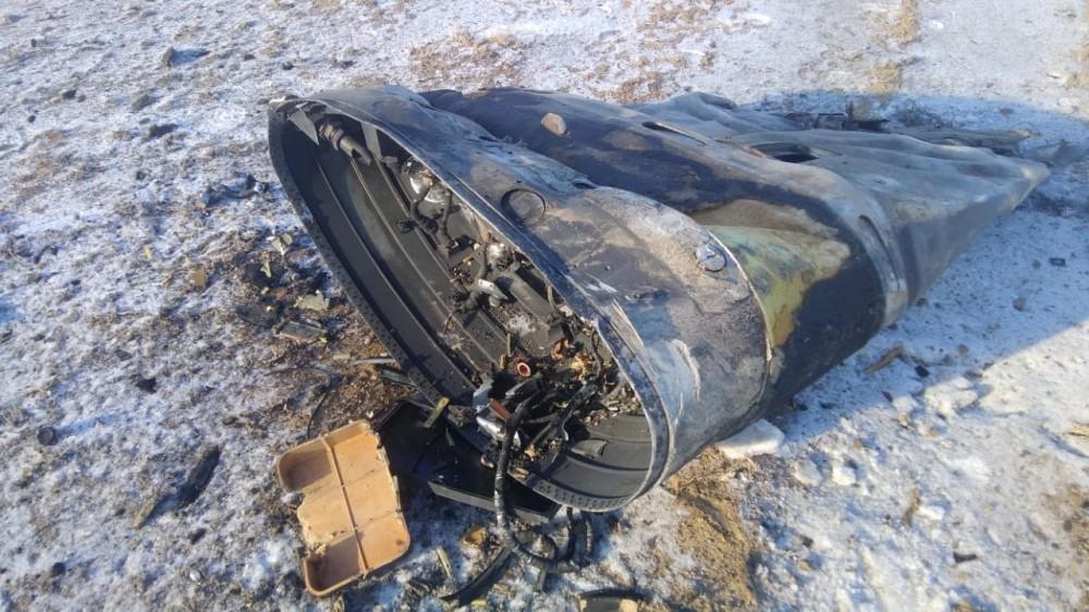 Астраханская ракета упала в Казахстане