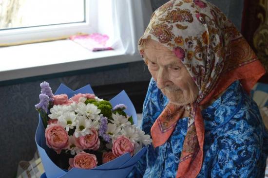 Жительница Ахтубинского района  отметила своё  106-летие