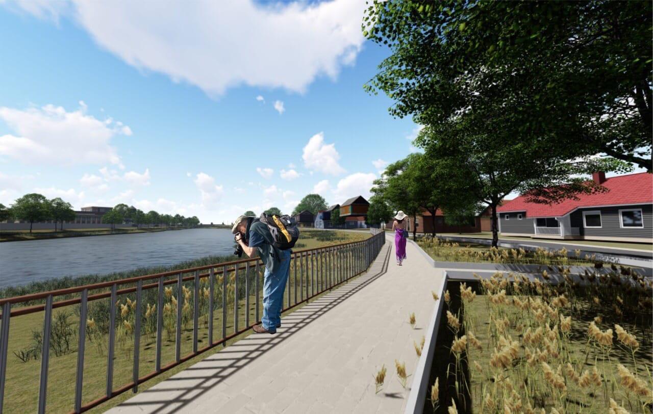 Астраханцы планируют   создать парк и зону отдыха в посёлке Янго-Аул