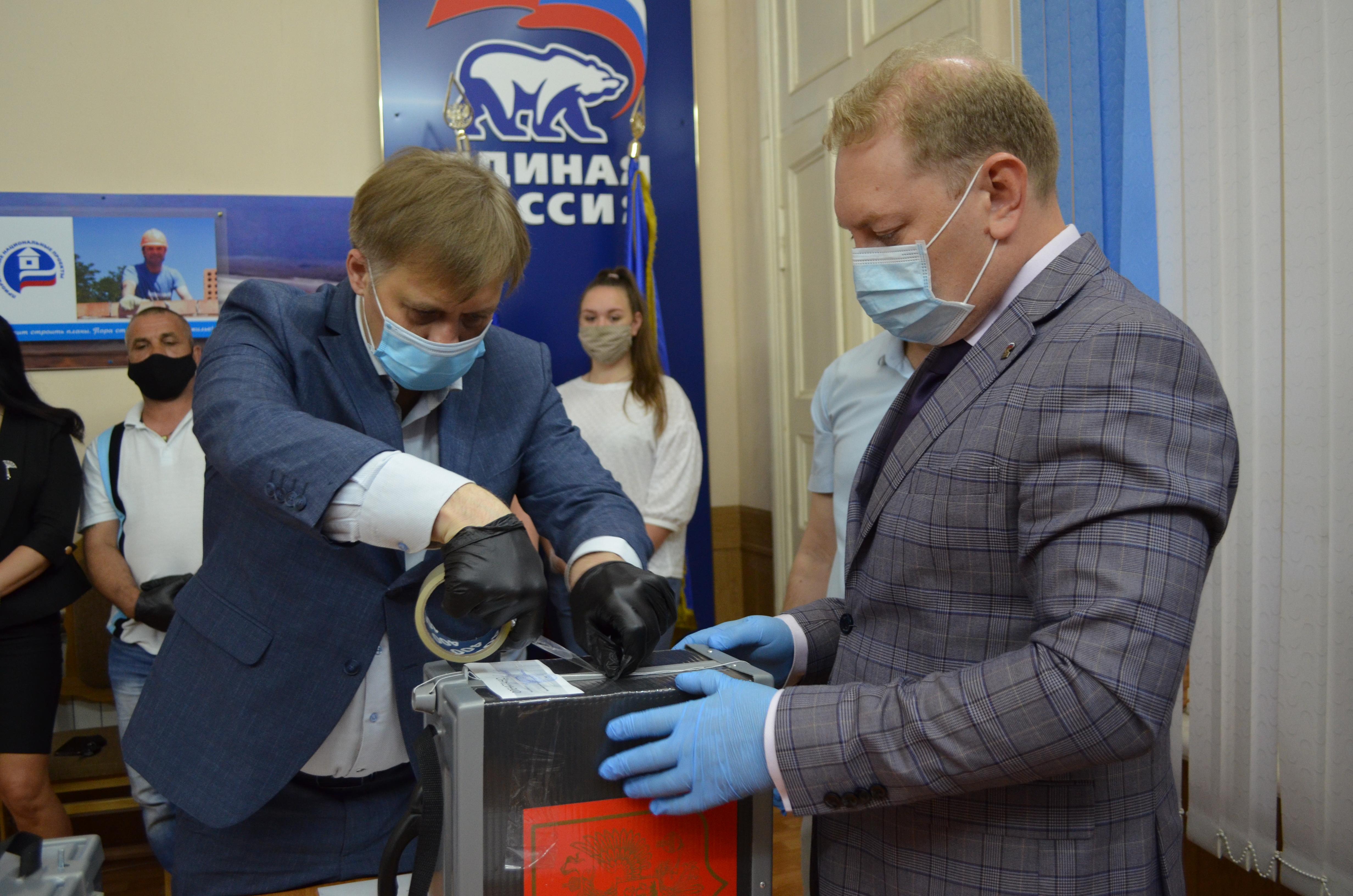 В Астрахани стартовал праймериз «ЕР» на выборы в Гордуму