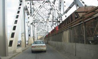 И вновь развод Старого моста в Астрахани