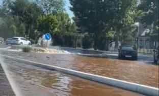«Прорыв фонтана» в Астрахани