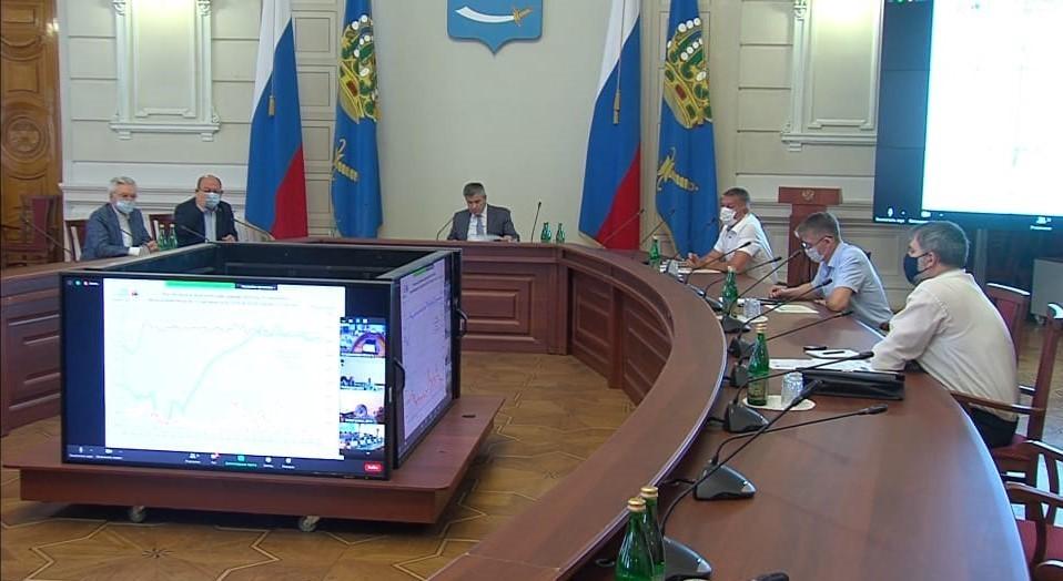 Паводок в Астраханской области идёт по благоприятному сценарию