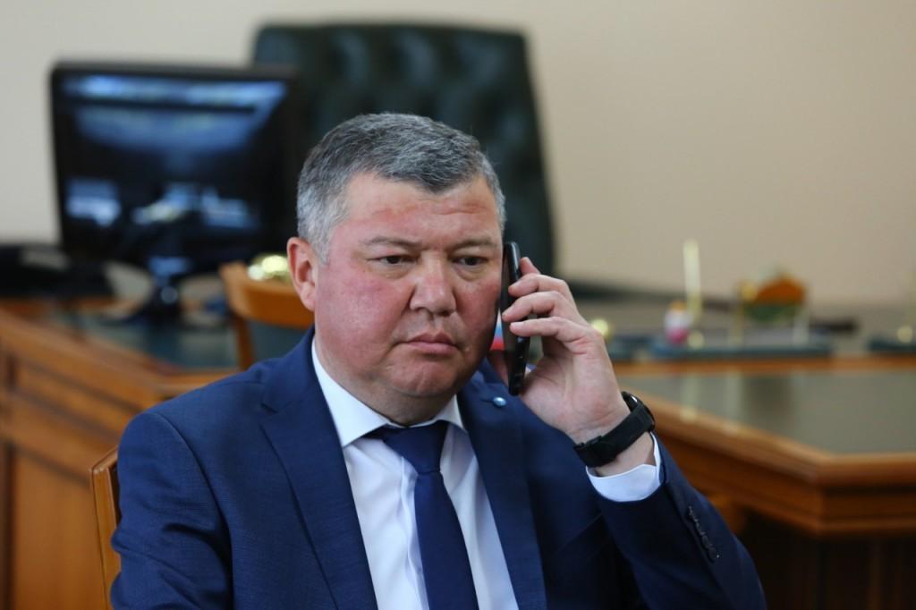 Исполняющим обязанности главы Красноярского района избран Руслан Бисенов