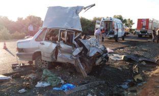 Под Астраханью произошло ДТП: двое погибли