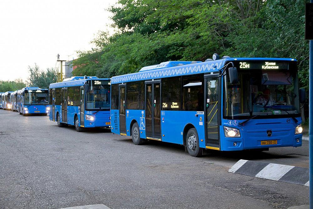 Москва подарит Астрахани ещё партию автобусов