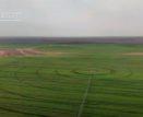 В Астрахани сняли необычные круги на полях