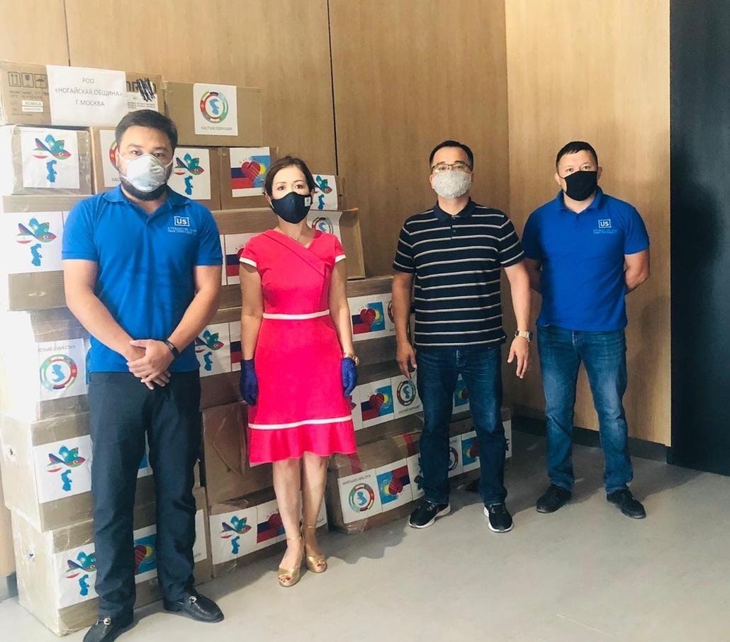 В Казахстане получили груз из Астрахани в рамках акции «Добро-Соседство»