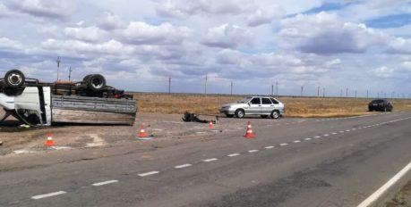 На автодороге «Волгоград-Астрахань» в результате ДТП пострадали 5 человек