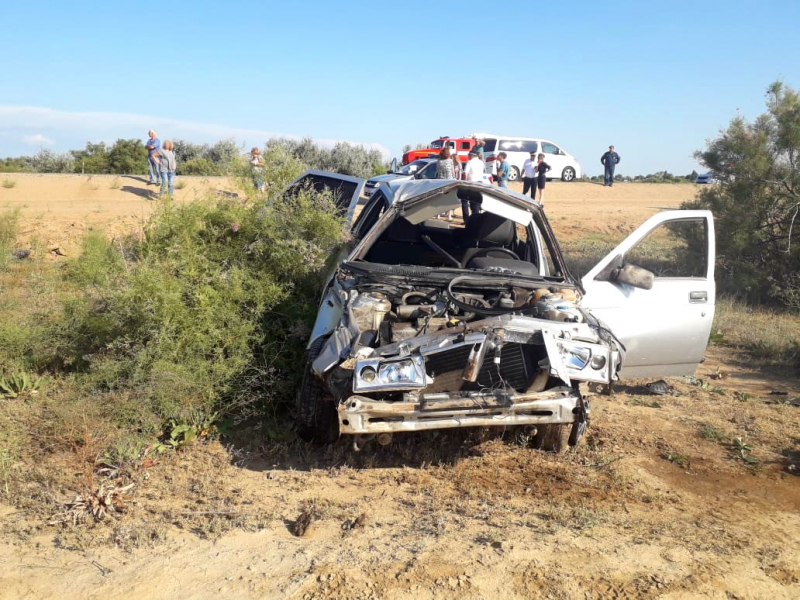 В результате опрокидывания авто на трассе погиб астраханец