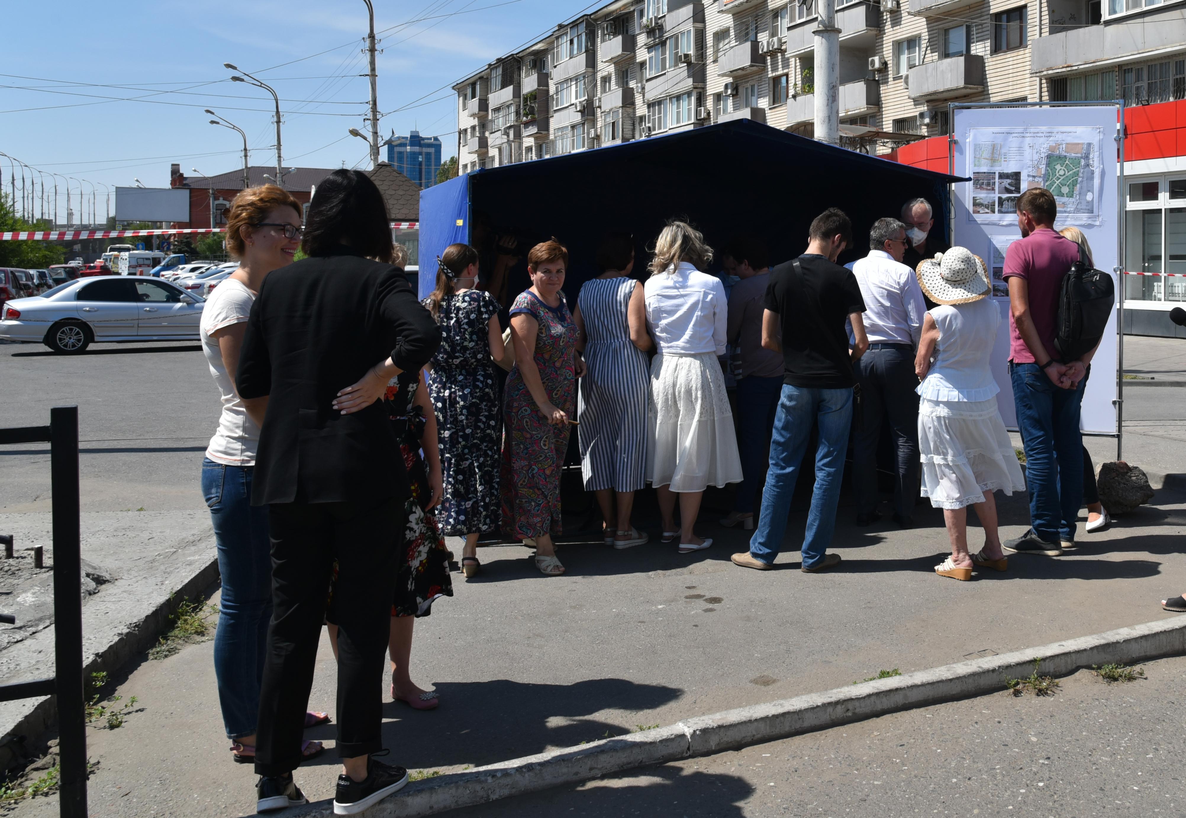 Астраханцы проголосовали за новый сквер в Ленинском районе