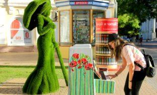 В Астрахани установили музыкальные арт-объекты