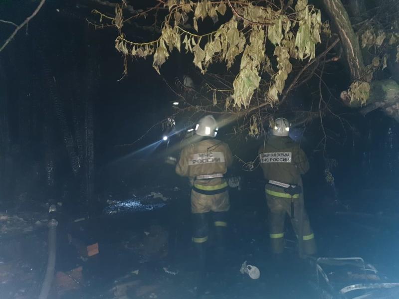 В Харабалинском районе горел дом: есть пострадавшие