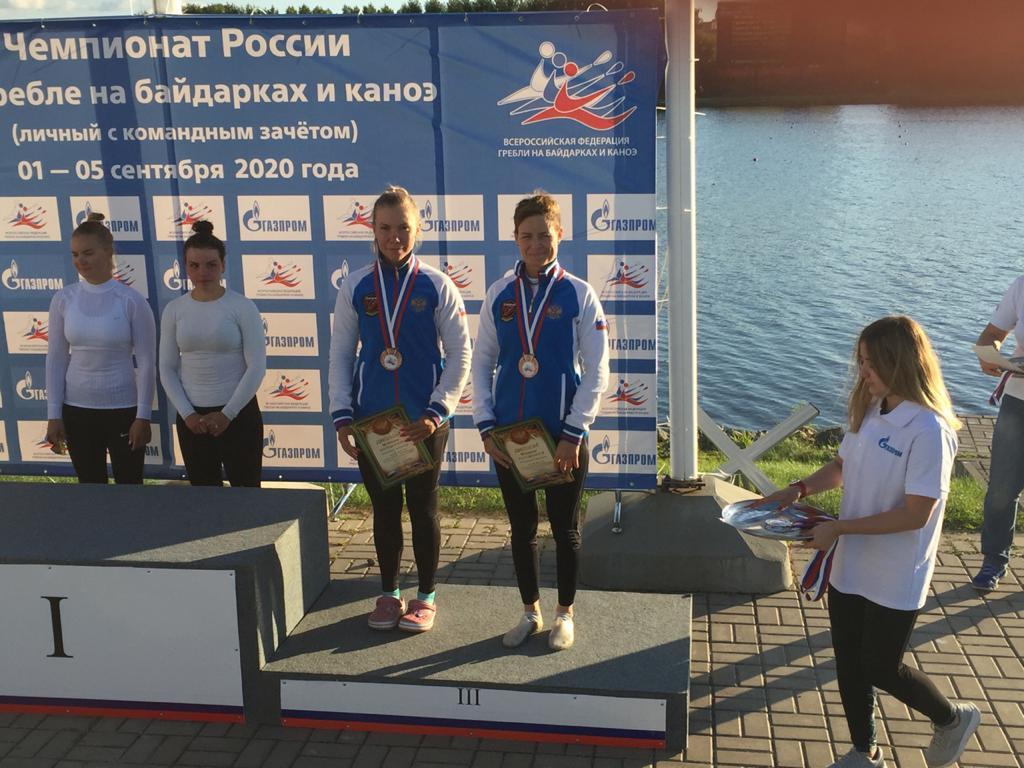 Астраханка стала призёром чемпионата России по гребле