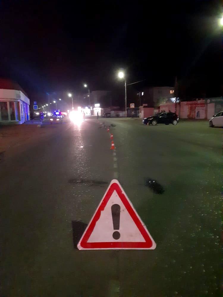 Под Астраханью сбили велосипедиста