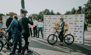 Фоторепортаж с астраханского велопарада