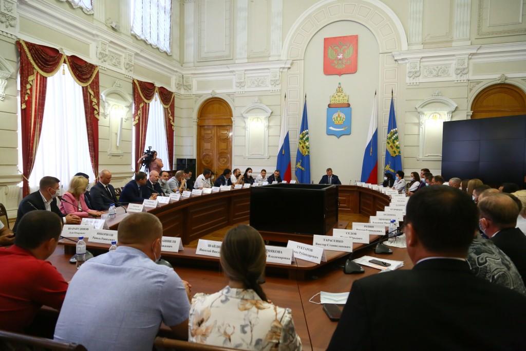 Свежеизбранные депутаты Гордумы встретились с Игорем Бабушкиным