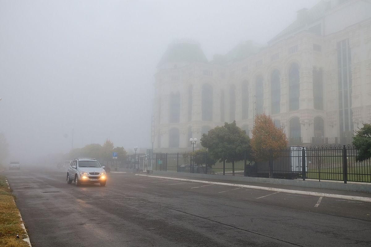 МЧС предупреждает астраханцев о наличии запаха гари в атмосферном воздухе