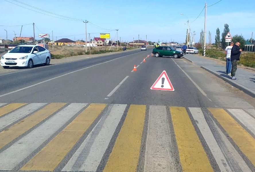 Под Астраханью водитель на авто сбил пешехода