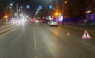 Переходил дорогу на «красный»: в Астрахани сбили пешехода