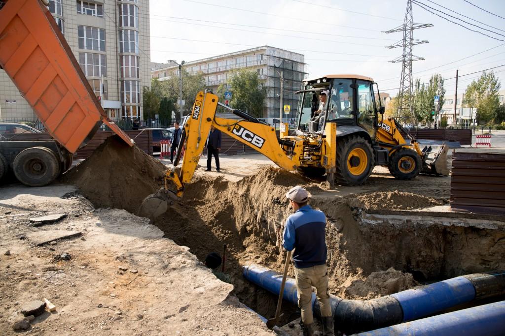 В Астрахани завершаются работы по устранению аварии