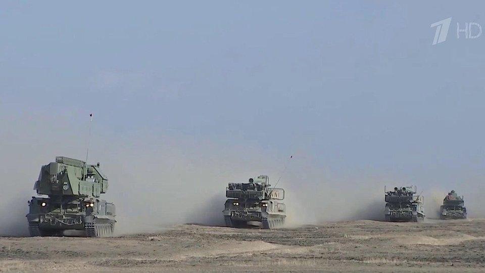 На полигоне Капустин Яр прошли учения ПВО