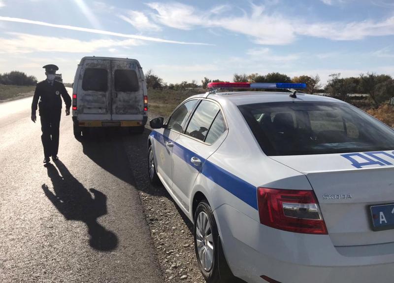 Полицейские задержали в Астрахани нетрезвого водителя маршрутки