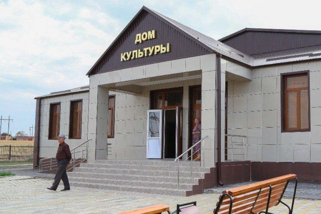 В Астраханской области в этом году завершится строительство пяти домов культуры