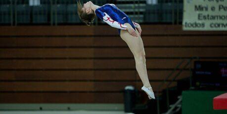Астраханская сборная взяла серебро на Чемпионате России по прыжкам на батуте