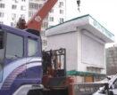 В Астрахани на «Бабайке» снесли нелегальные киоски