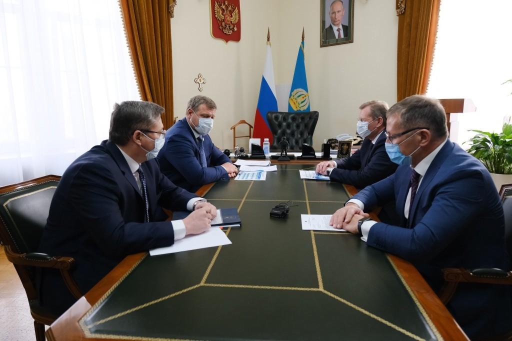 КТК выделило Астрахани в этом году 114,5 млн рублей на благотворительные цели