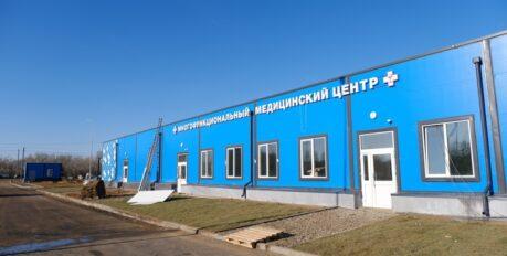 Основные работы по строительству ковидных госпиталей в Астрахани завершены