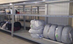 На астраханском ж/д вокзале предоставляют услуги сезонного хранения автошин и личных вещей