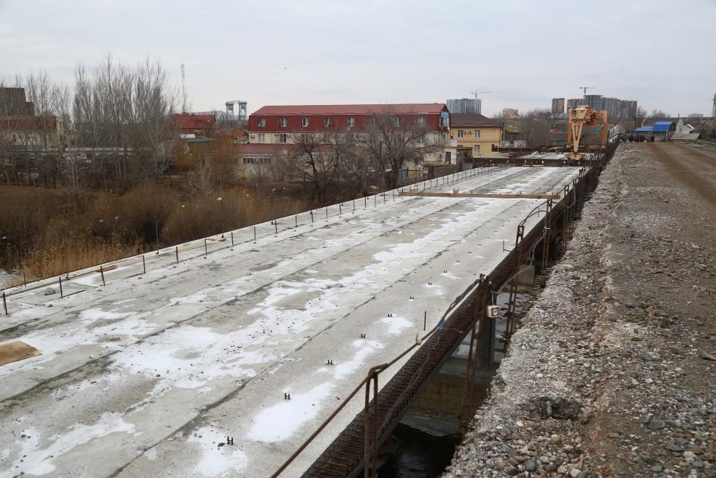 Игорь Бабушкин сообщил, что строительство Милицейского моста  должно идти круглые сутки