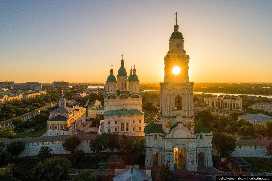 Астрахань вошла в десятку популярных туристических направлений
