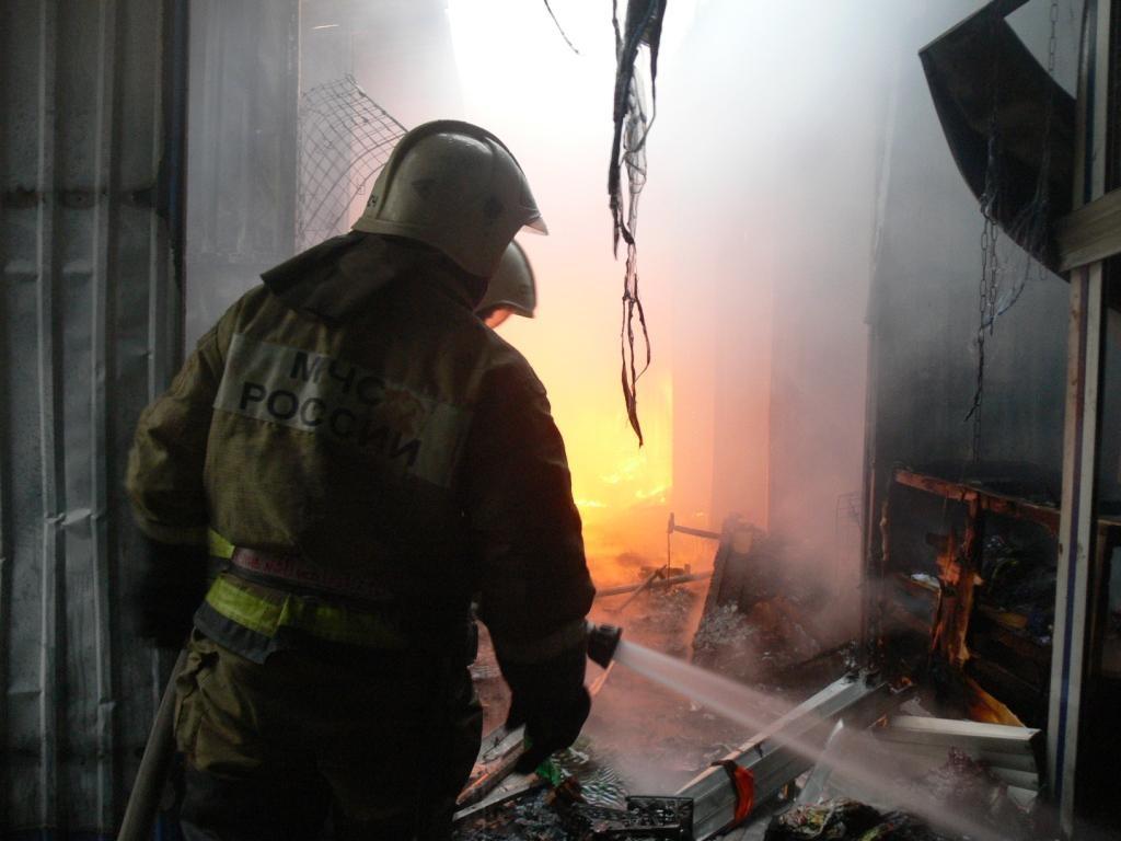 В Трусовском районе сгорела квартира